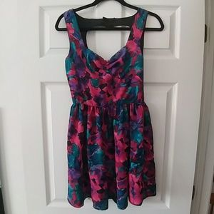 Fit and flare party dress